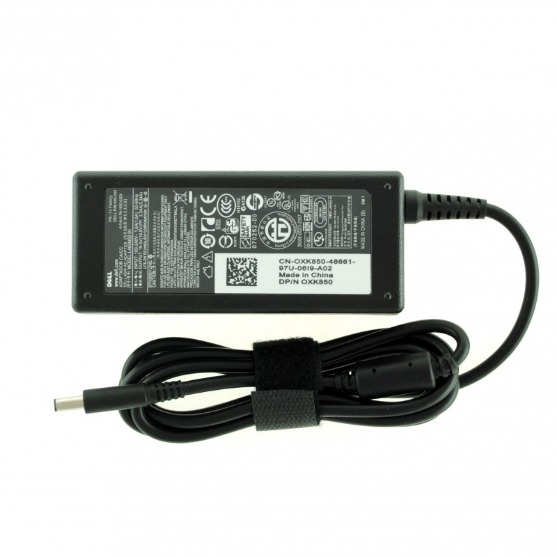 Τροφοδοτικό AC Adapter Dell 19.5V 3.34A 65W 4.5mm x 3.0mm LA65NS2-01