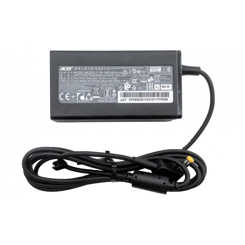 Γνήσιο Τροφοδοτικό Acer AC Adapter PA-1650-86 19V 3.42A 65W 5.5mm x 1.7mm