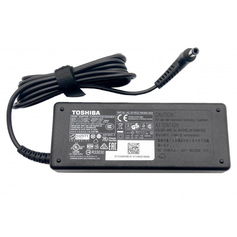 Γνήσιο Τροφοδοτικό Toshiba AC Adapter PA5180U-1ACA 19V 4.74A 90W 5.5mm x 2.5mm