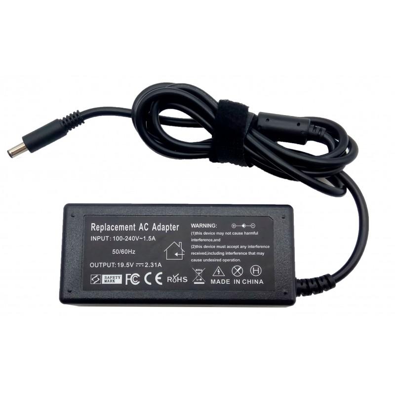 Τροφοδοτικό Dell AC Adapter 19.5V 2.31A 45W 4.5mm x 3.0mm OEM Υψηλής ποιότητας