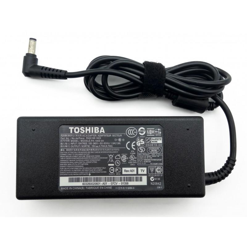 Τροφοδοτικό AC Adapter Toshiba 19V 4.74A 90W 5.5mm x 2.5mm SADP-65KBA