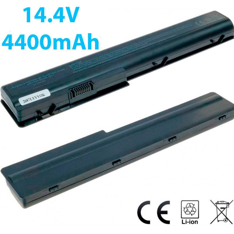 Συμβατή Μπαταρία  HSTNN-IB75 για HP HDX-X18 HDX18-1000 / Pavilion DV7-1000 DV7-2000 DV7-3000