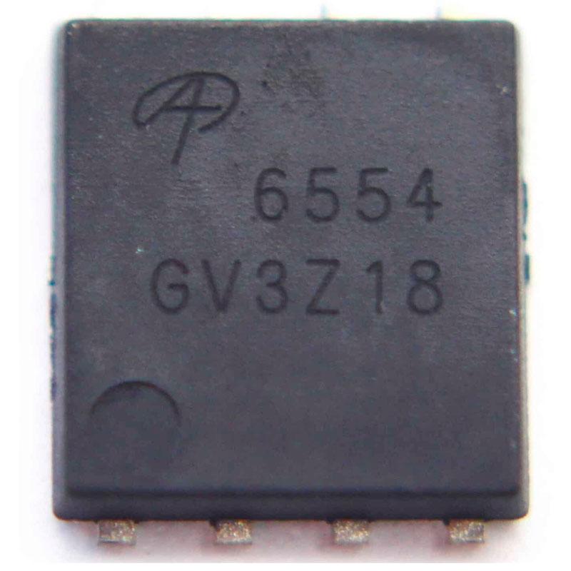 N-Channel MOSFET AlphaMOS - AON6554 AO6554 6554 QFN-8