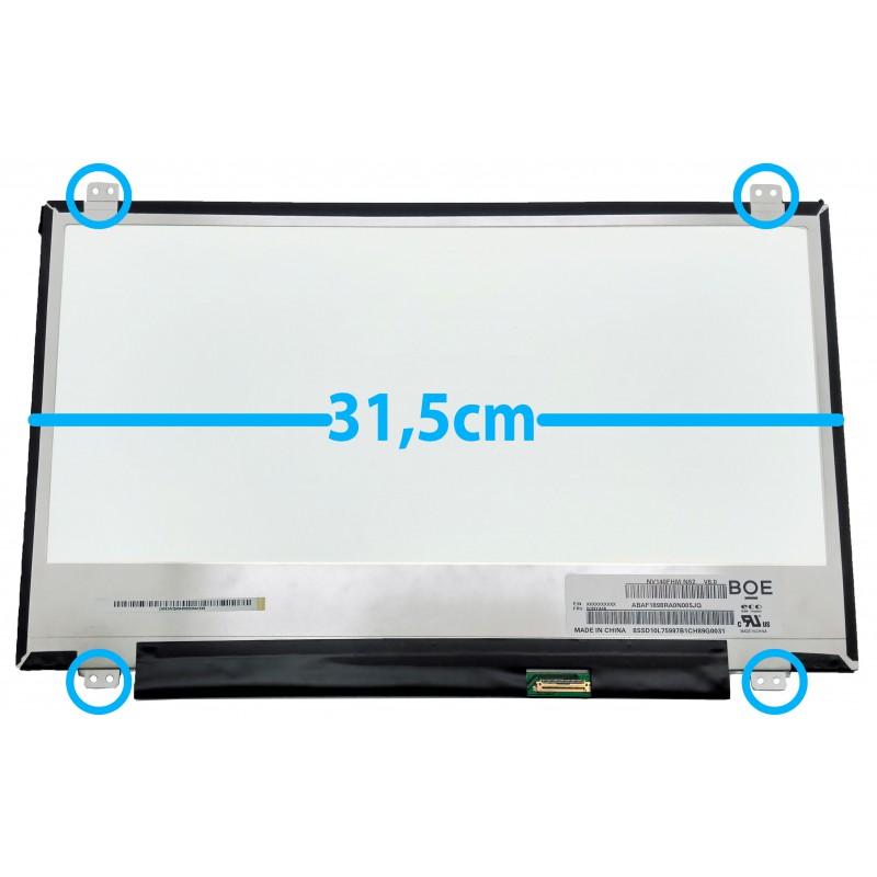 """Οθόνη για λάπτοπ 14.0"""" NV140FHM-N62 V8.0 1920x1080 IPS FHD 30 Pin LED 31,5cm"""